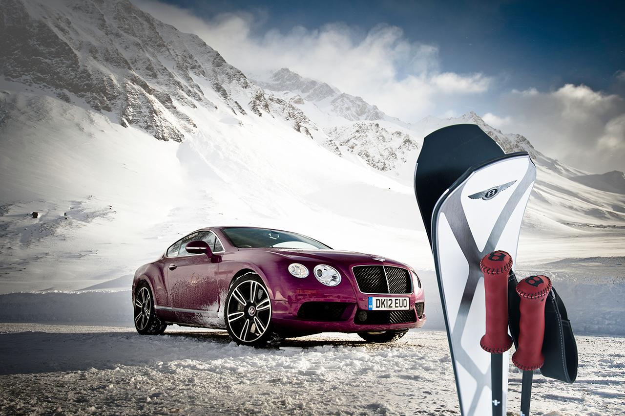 ZAI for Bentley - nepropracovnější lyže na světě